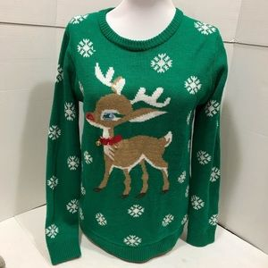 Altar'd State Christmas Light Up Sweater SIZE S